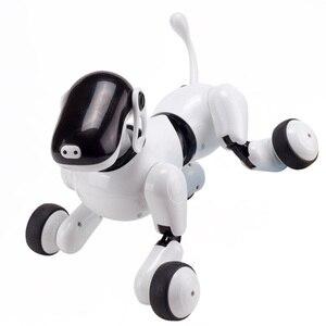 Image 5 - I bambini Pet Robot Giocattolo Del Cane con la Danza Canto/Controllo di Riconoscimento vocale/Touch/APP di Programmazione Personalizzata Azioni