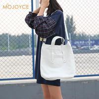 Canvas Messenger Shoulder Bag Women Handbags Canvas Tote Bags Reusable Cotton Grocery Shopping Bag Webshop Foldable