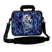 China Dragon Caso Laptop Notebook Messenger Bag Bolso Del Hombro 13 14 15 13.3