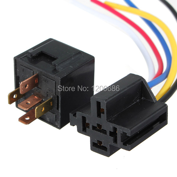 5 Pin Relay Wiring Help