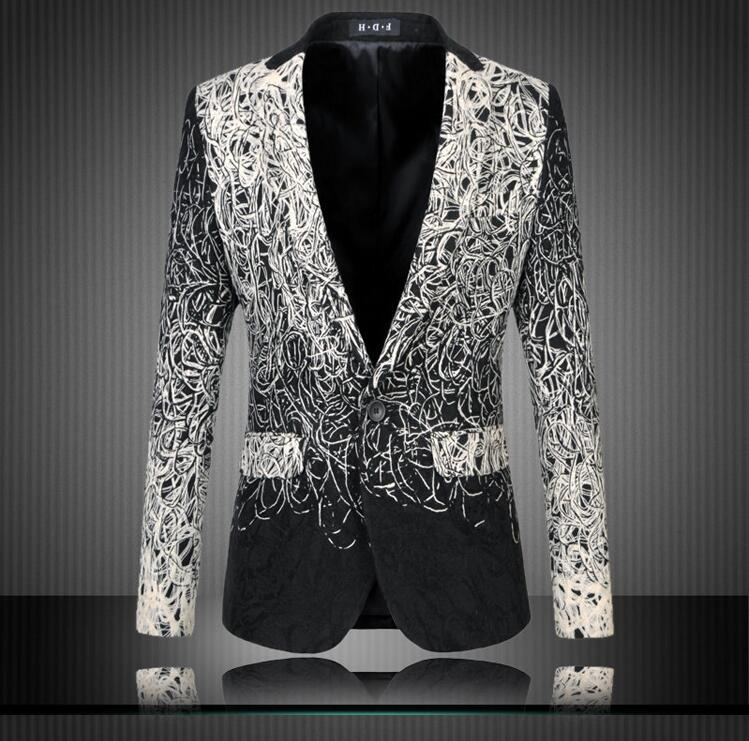 Online Get Cheap Blazer Black Men -Aliexpress.com | Alibaba Group