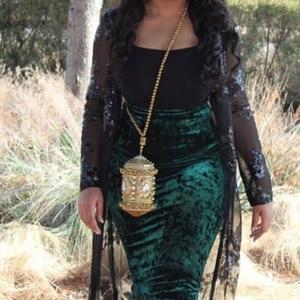 Image 5 - DOYUTIG luxe femmes fait à la main perlée pochettes Vintage cristal perlée sac à bandoulière pour dame sacs de mariage sac de soirée F669