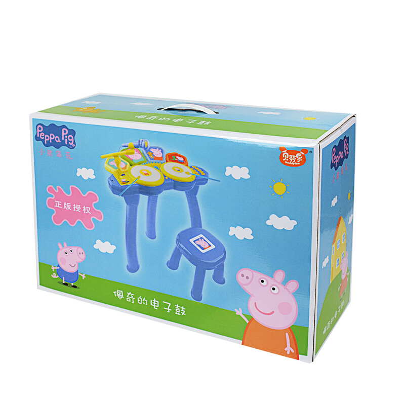 Peppa pig Learning Education Toy Musical Instrument Drum drum children's toys male girl simulation drum baby Toy for children - 4