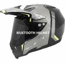 Bluetooth motorcycle vespa helmet vintage full face  visor motocross jet retro capacete casque moto S M L XL