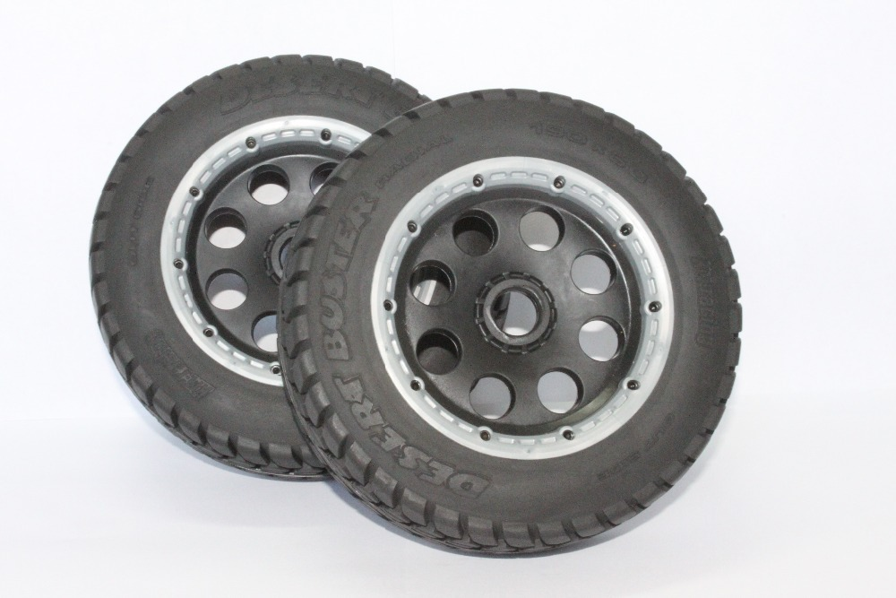 5T Front Off road Wheel Set For 1/5 HPI rovan km Baja 5T Parts 5t knobby wheel set for 1 5 hpi baja 5t