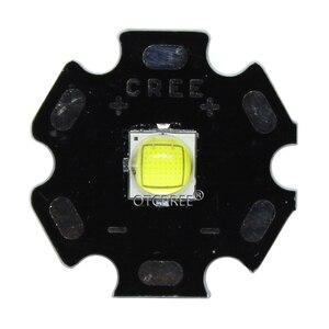 Image 3 - Светодиодный светильник Cree XLamp, 10 вт, холодный белый, 6500 к, высокая мощность, диодный излучатель, светодиодный светильник 16 мм, черный или белый цвет, печатная плата