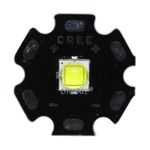 Image 3 - קריס XLamp XM L2 XML2 T6 10W מגניב לבן 6500K מתח גבוה LED אור פולט דיודה עבור פנס על 16mm שחור או לבן PCB
