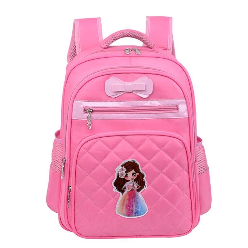 Девушки Дети ортопедический рюкзак школьный детей школьные сумки Водонепроницаемый рюкзак начальная школа Bookbag дети портфель sac enfant