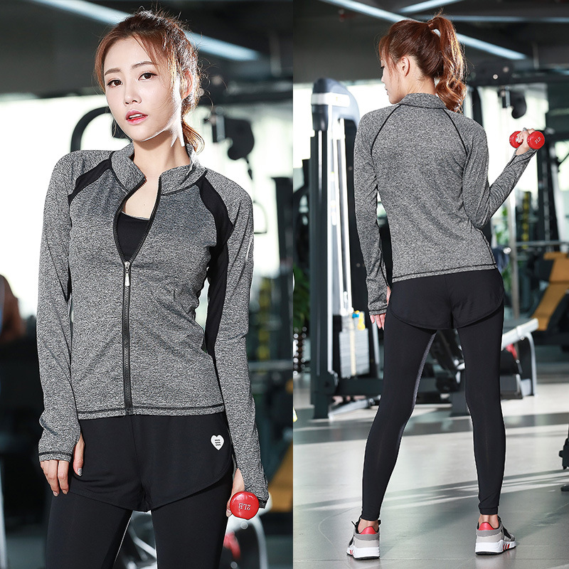 ФОТО Stretch Stripe High Elastic Women Yoga Sets Exercise Sportswear Outdoor Fitness Running Suit Yoga Shirts And Elastic Slim Pants
