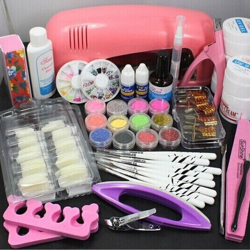 Acrylic and gel nail starter kit