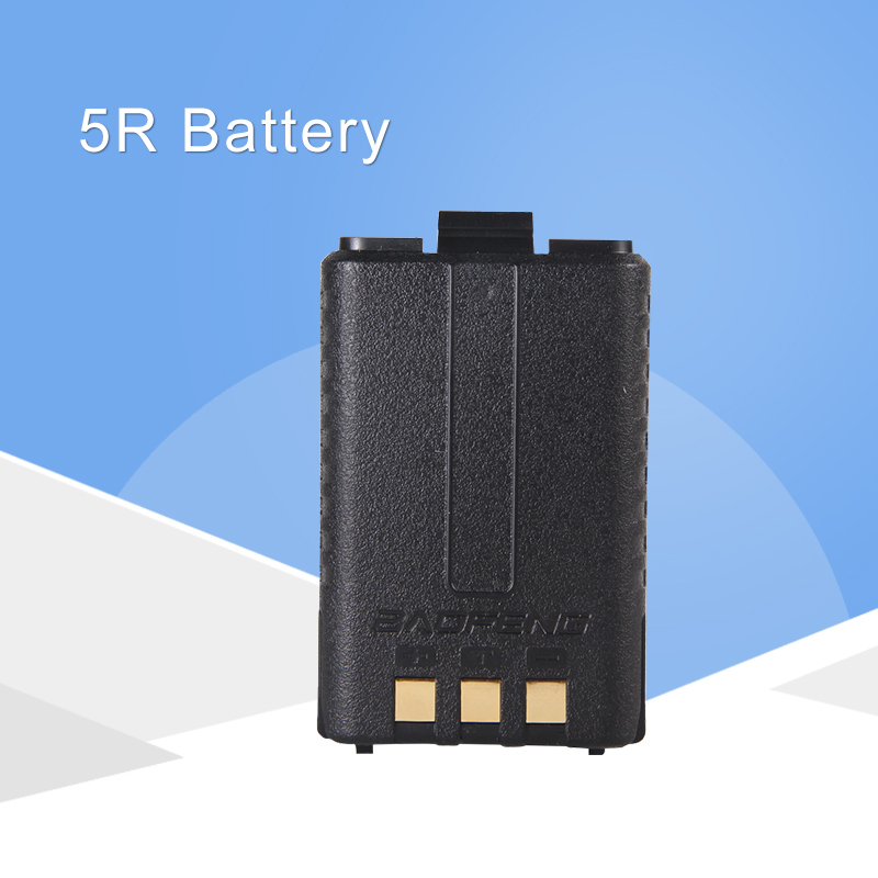 1800MAh BL-5 Original Li-Ion Baofeng UV5R Battery For Radio Walkie Talkie Accessories Baofeng UV-5R UV-5RE 5RA UV 5R Battery
