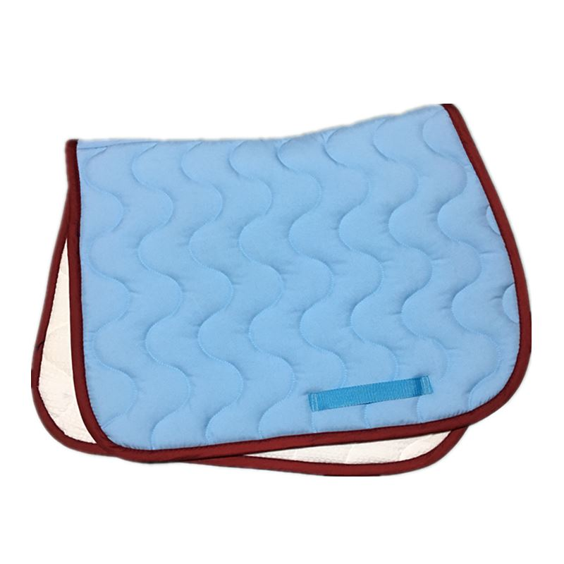 Pink Horse  Saddle Cushion  Jumping Saddle Pads High Quality Quilted  Shock Absorption Dressage Pad