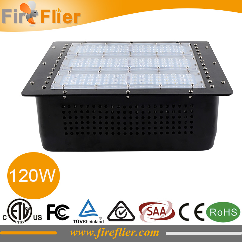 4pcs waterproof led gas station light 80w 100w surface mounted canopy lamps 120w 150w warehouse led lighting 200w 277v 347v 480v|led gas station light|led light 200w|led gas station - title=