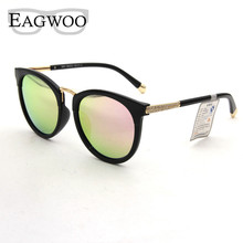 Поляризационные Солнцезащитные очки Для женщин Женская мода кошачий глаз большой Защита от солнца Очки Anti UV блики De Sol masculino градиент Линзы 890018