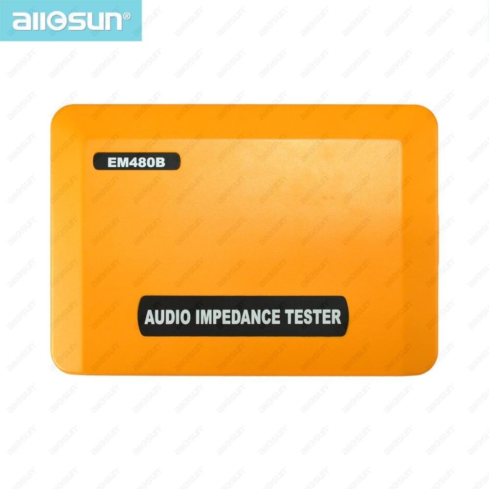 ALL SUN EM480B Probador de impedancia de audio Rangos de prueba - Instrumentos de medición - foto 4