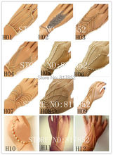 New Style  Chains Hand Chains Jewelry Bracelet Chains Jewelry Finger Chains Jewelry 12 Styles 2 Colors