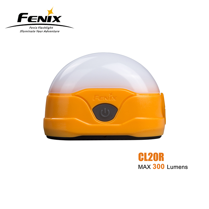 New Arrival FENIX CL20R 300 Lumens LED High-performance Rechargeable Camping Lantern Built-in 1600mAh Li-polymer Battery fenix uc02 rechargeable black