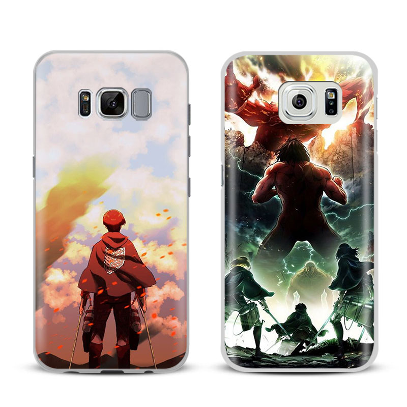 Attack on Titan Levi Phone Case Cover Shell For Samsung Galaxy S4 S5 S6 S7 Edge S8 Plus Note 8 2 3 4 5 A5 A7 J5 2016 J7 2017