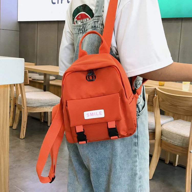 2019 Summer New Fashion Preppy Style Women Canvas Backpacks Female Casual Students School Bags Shoulder Bags