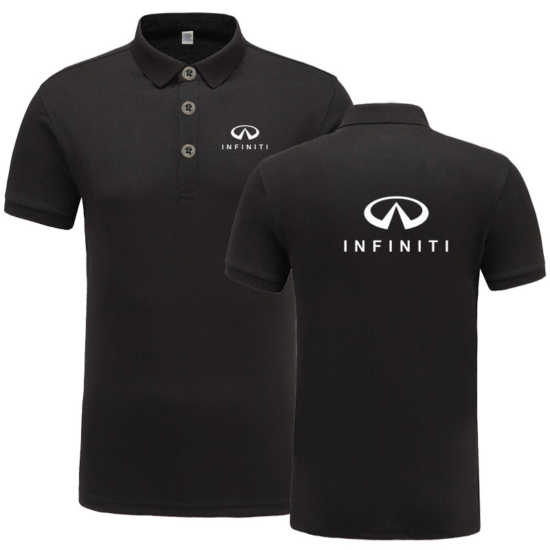 New Arrival Brand Clothing Men Infiniti logo   Polo   Shirt Casual Male Mitsubishi   Polo   Shirt Short Sleeve   Polo   Shirt