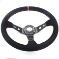 "1X13.4 ""Volante 340 MM fit para OMP Sport Volante Drift Racing Franela Corn Deep Dish Wheel Car Styling"