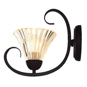 1 Light  Vintage Classic Glass LED Wall Light Lamp Home Lighting, Led Wall Sconce Free Shipping,E14,AC,Bulb Included