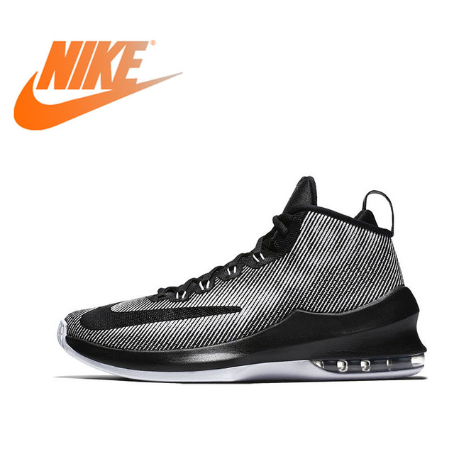 6dfbcbfc2662 Original NIKE Authentic NIKE AIR MAX INFURIATE MID EP Mens Sport Shoes  Non-slip Breathable Basketball Sneakers Sports Outdoor