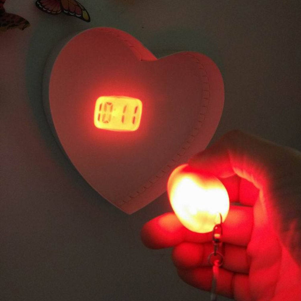 Mini Digital Projection Clock Portable LED Clock Wall Ceiling Time Projection Watch Magic Night Light Electronic Clock in Alarm Clocks from Home Garden