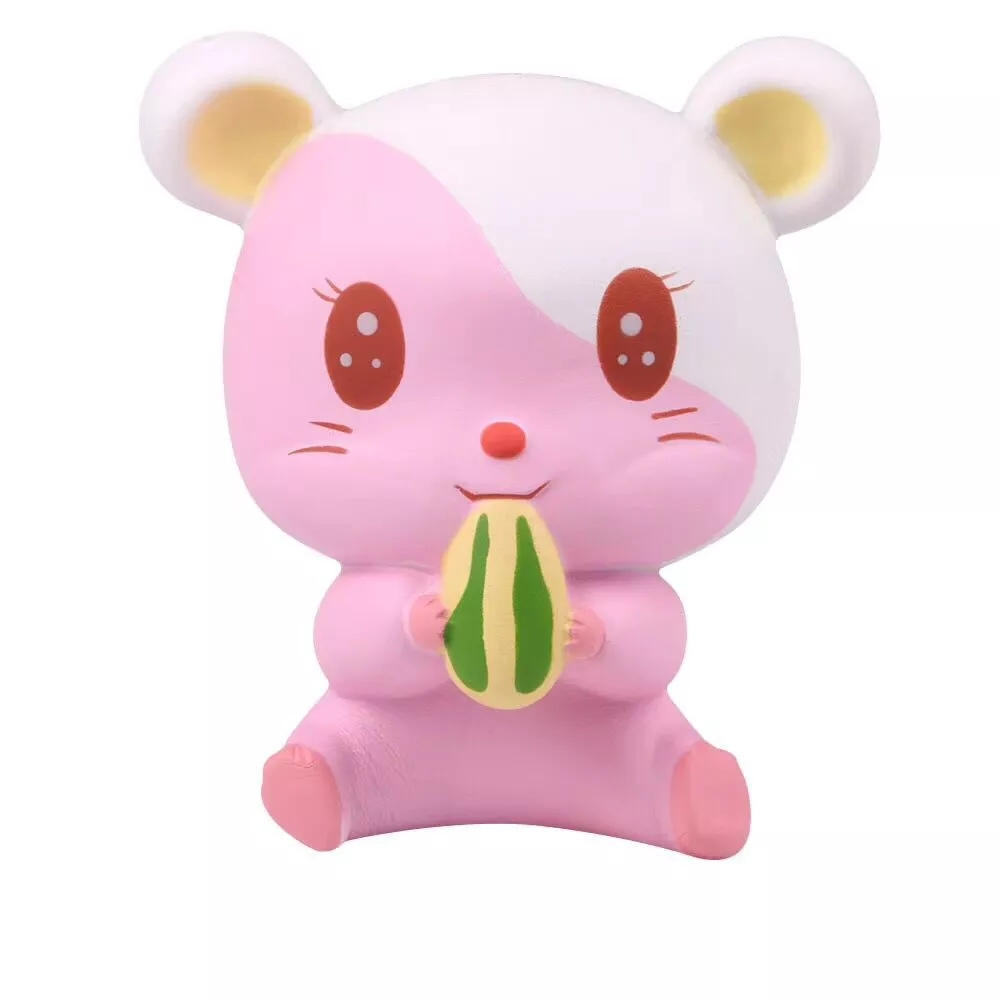 Mskwee Squishy Jumbo Cute Hamster Squishies Anti Stress Toys Home Decoration Soft Decompression Stress Relief Squeeze Toy