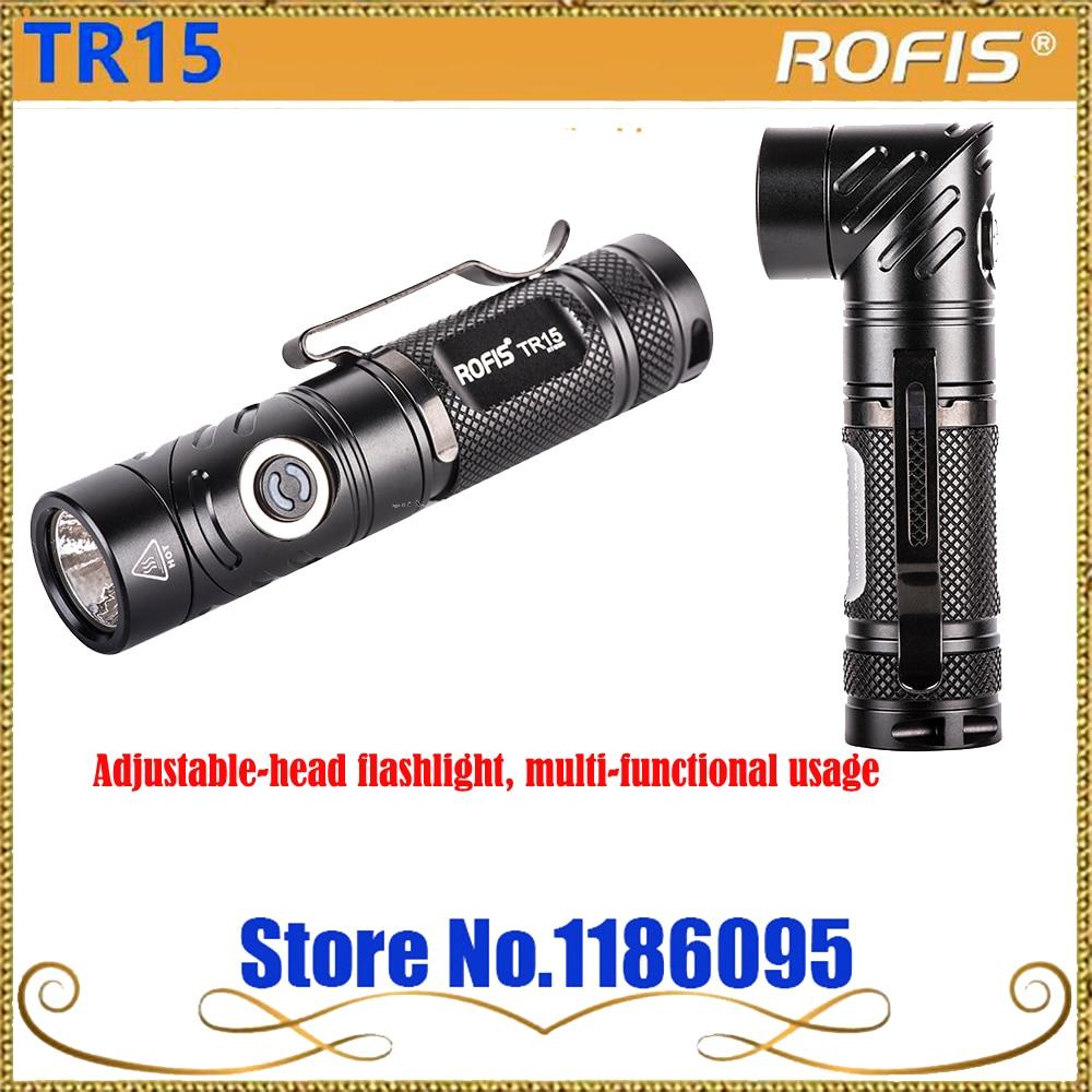 Rofis TR15 CREE XP-L HI V3 LED 700 lumens Adjustable-head flashlight, multi-functional usage flashlight jm pj7003 multi functional camping lamp 180 lumens led flashlight