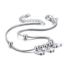 Recién llegado! mujeres 925 tobillera de plata pura ; Popular de la joyería ; joyería de pie ; retro de la joyería ; diseño sólido ;