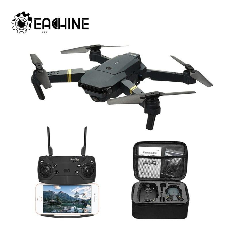 Eachine E58 WIFI FPV con brazo plegable de gran angular 720 P/1080 P para cámara HD RC Drone Quadcopter RTF VS S9HW M69