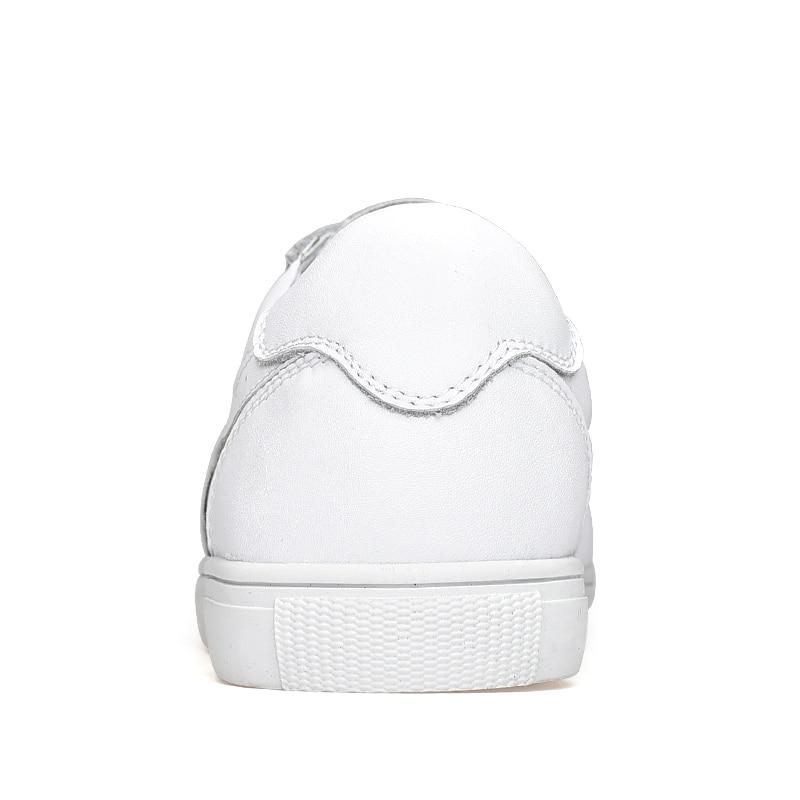 Herr fritidskor Skor läderkoder sneakers Designer Walking Office - Herrskor - Foto 4