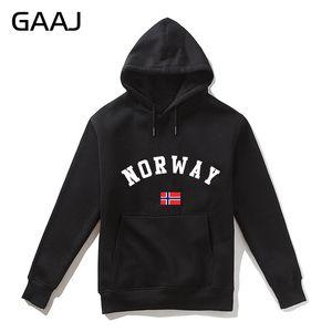 Image 1 - 2019 New Norway Flag Men Hoodies WomenFleece Coats Northern Europe Man Zipper Streetwear Brand Clothing Casual Brand