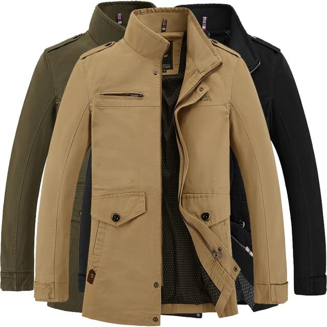 Jacket Mens Marca Jaqueta Vento Business Modo Giacca Casual A Di SFH7Zx