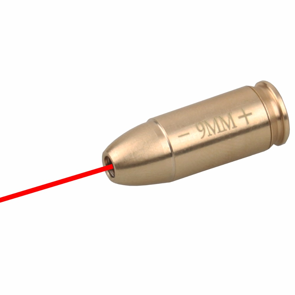 VO 9mm Cartridge Red Laser Bore Sight Acom 4