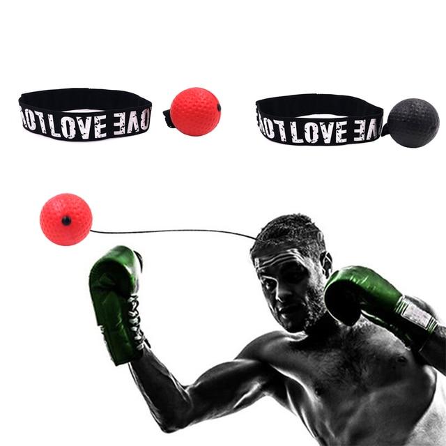 head band adults speed training taekwondo punching bag kicking free size combat boxing grappling boxer fight reflex boxing ball