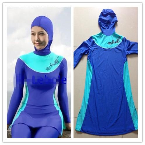 e8bcd0f3f4f43 New Full Swim Suit Muslim Women Casual Islam Hijab Swimwear Female Islamic  Swimwears Beach Swimsuit For Muslim Women Clothing on Aliexpress.com |  Alibaba ...