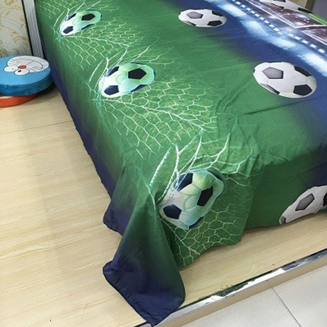 3Pcs Set 200cmx230 cm Fashion 3D Polyester Football Field Duvet cover Bedding Sets Cover Sets Pillowcase Sport Boy Gift Textile