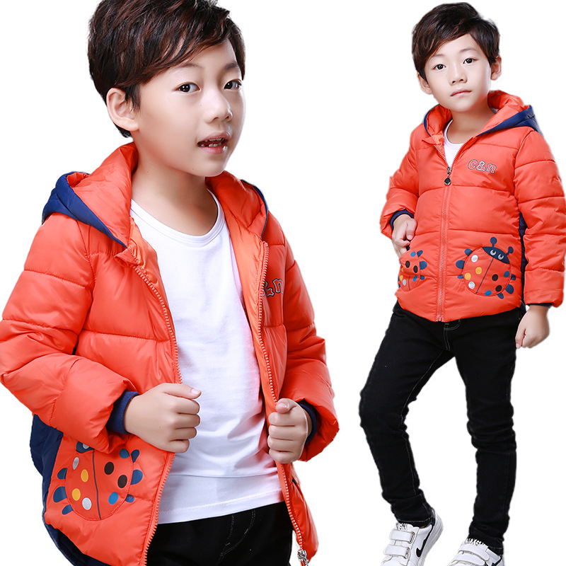 Children Light Hooded Down Winter Jacket For Coat Parkas Outerwear Jackets Kids Parka