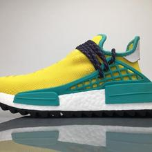3ce77af6e 2019 Real Qualty Boost Human Race Factory Yellow Red Green Black nmd Men  women Pharrell Williams X Human Race Running Shoes