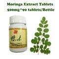 (2 botellas de alimentación) extractos De Moringa tabletas de refuerzo de energía anti-envejecimiento suplemento Natural de aumento de peso del producto para los hombres y de las mujeres