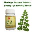 (2 garrafas de alimentação) Moringa extratos comprimidos impulsionador da energia anti-envelhecimento suplemento ganho de peso do produto Natural para os homens & das mulheres