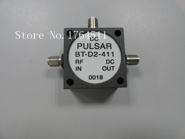 [BELLA] The United States PULSAR BT-D2-411 1-4500MHz 50V 1A T RF Coaxial High Voltage Bias Device  --2PCS/LOT