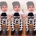 Summer infant clothes baby boy clothing sets newborn cotton printed short sleeved t-shirt+pants kids 2pcs suit baby girl clothes
