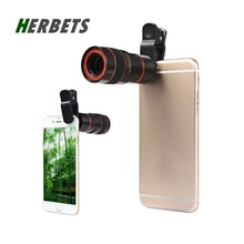 Universal 8X Zoom HD Optical Telescope Lens Digital Zoom With Clip for Samsung for HTC