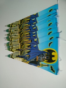 Image 4 - 81個20人ハッピーバースデー子供バットマンベビーシャワーパーティーの装飾セットバナーテーブルクロスストローカッププレートサプライヤー