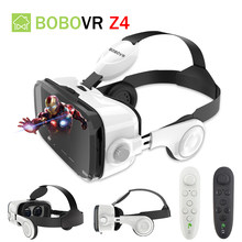 Original BOBOVR Z4 Stereo 3D Glasses Google Cardboard Helmet Virtual Reality Goggles Headset BOBO VR For 4-6' Phone(China)