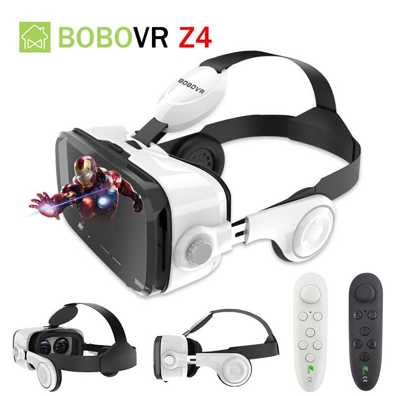 e6e0463ca399 Original BOBOVR Z4 Stereo 3D Glasses Google Cardboard Helmet Virtual  Reality Goggles Headset Box BOBO VR For 4-6  Phone