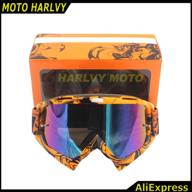 Prix pour 2016 Nouvelle Arrivée moto casque lunettes KTM RENARD Professionnel motocross lunettes moto lunettes motocros casque